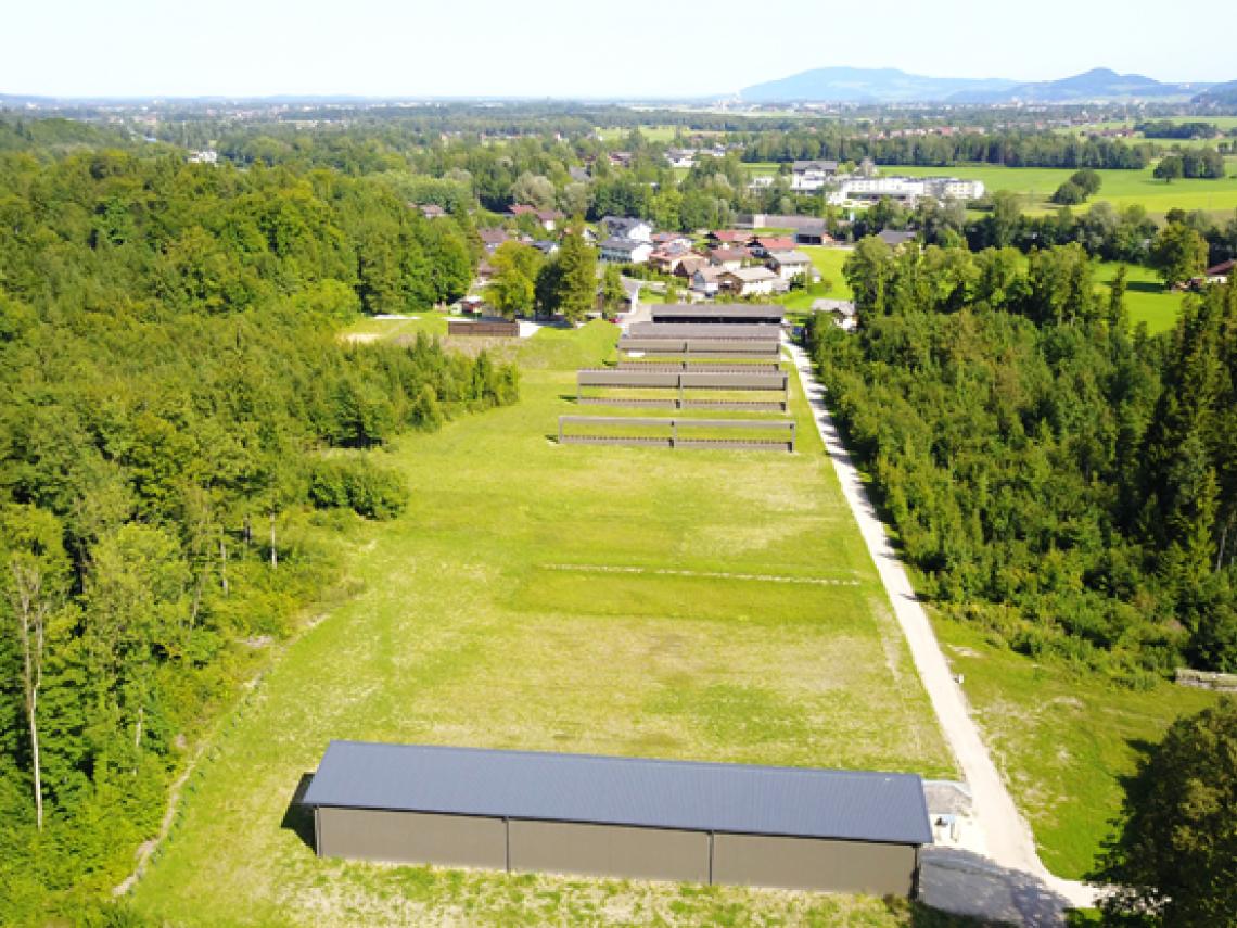 Sanierung Schießplatz Glanegg